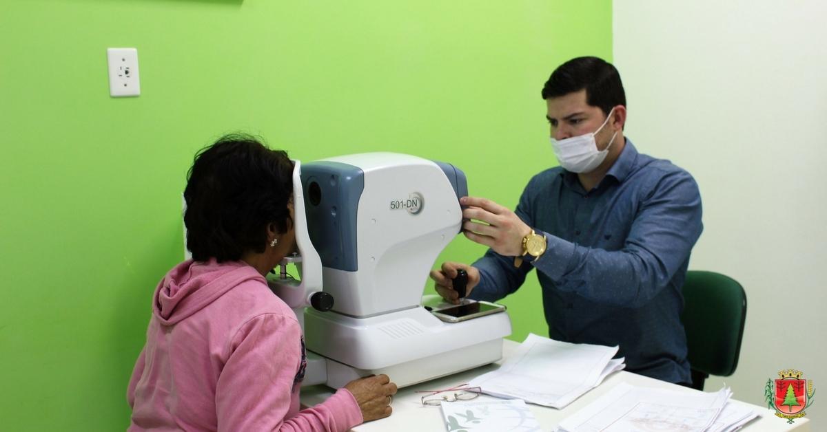 436 atendimentos são realizados durante mutirão oftalmológico em Três Barras