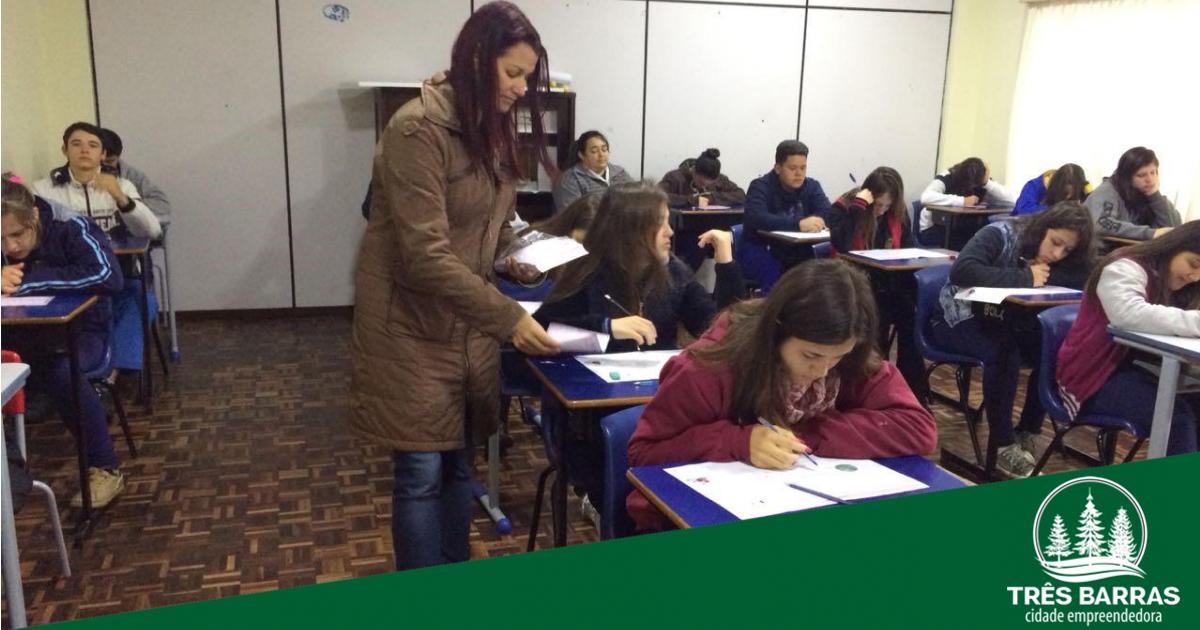 771 estudantes de escolas municipais participam da primeira fase da OBMEP