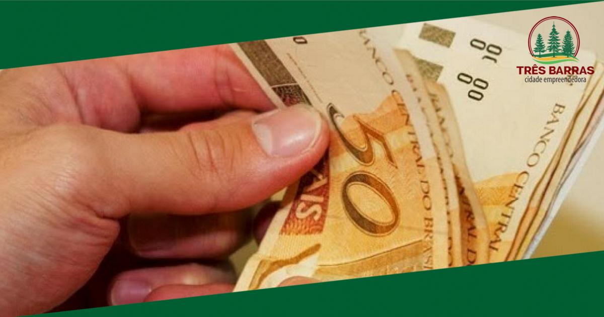 Adiantamento salarial do funcionalismo já está disponível para saque