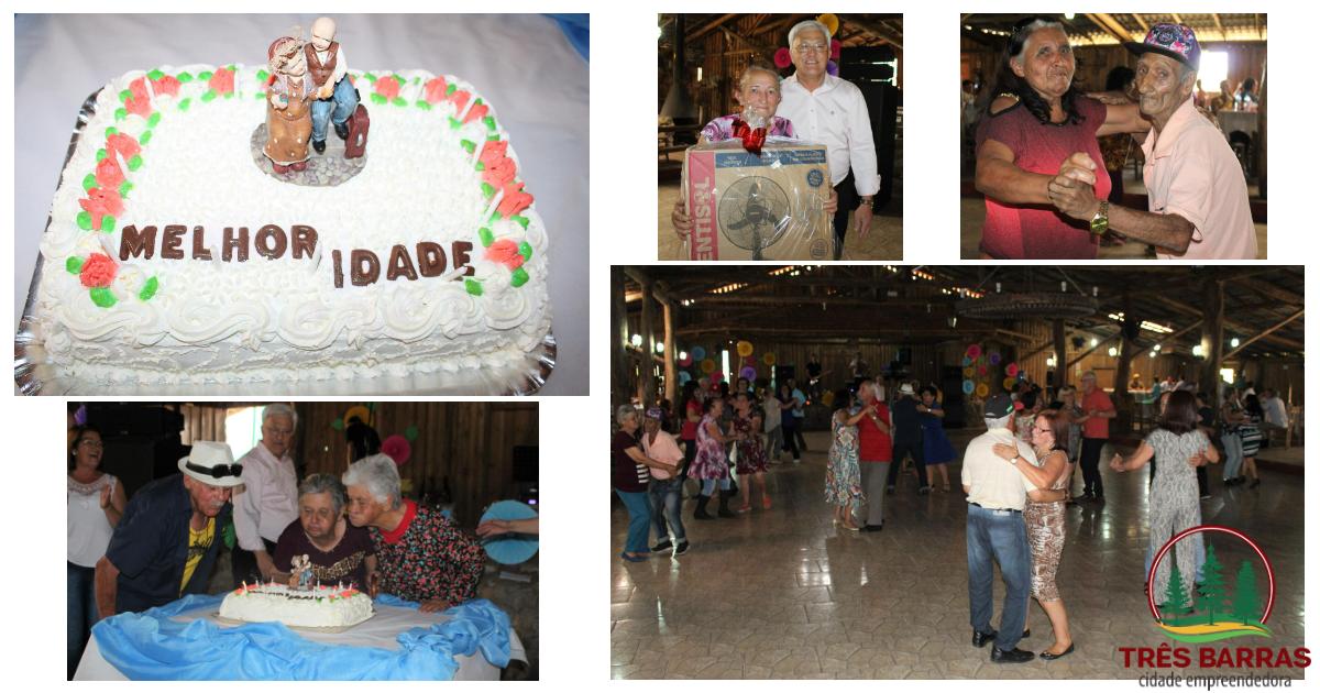 Alegria e descontração marcam a festa para a Melhor Idade do distrito de São Cristóvão