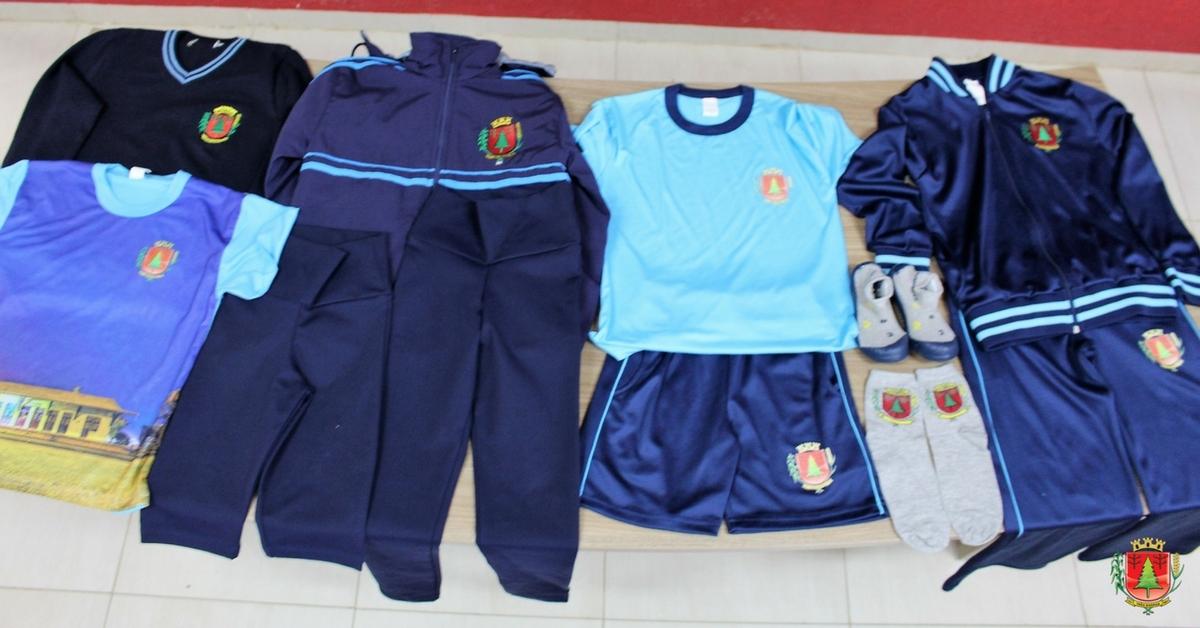 Alunos da rede municipal de ensino terão novos uniformes