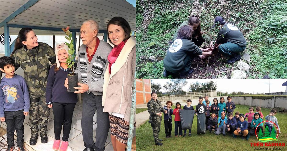 Alunos do PUMA e PROA participam de ações alusivas ao Dia do Meio Ambiente