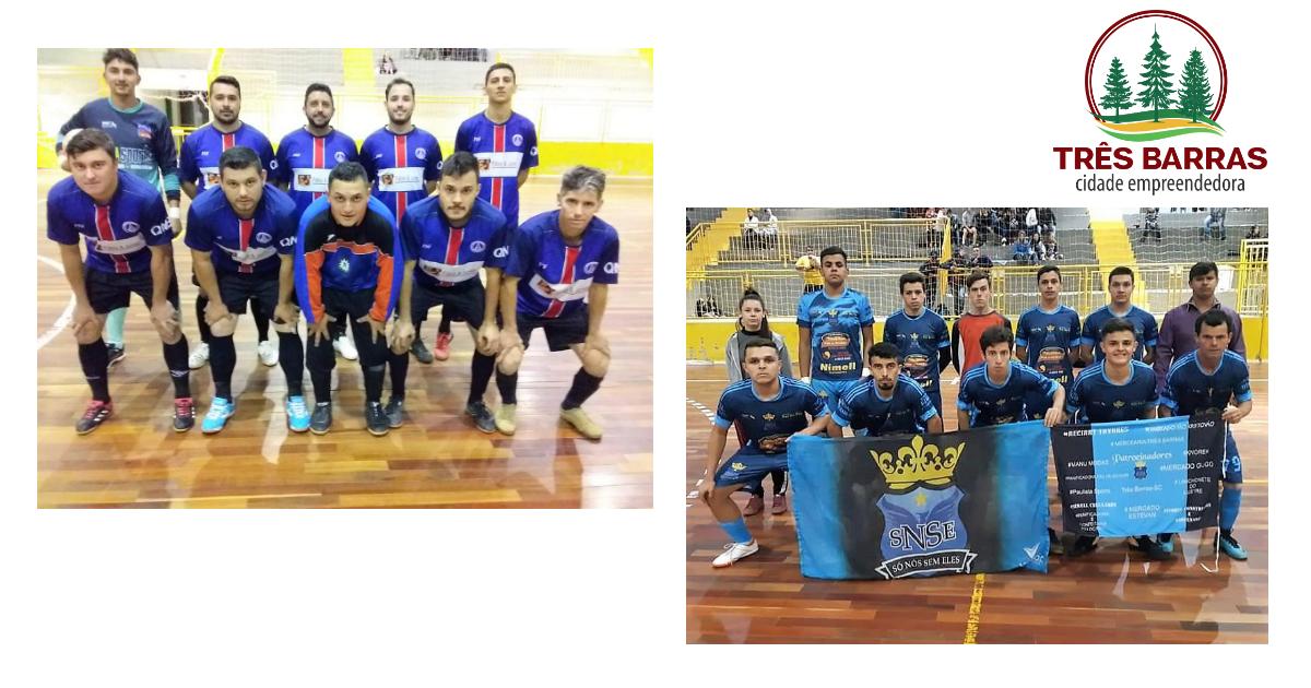 Amigos FC goleiam pela décima rodada do Futsal Masculino; Só Nós Sem Eles se mantém na liderança da chave D