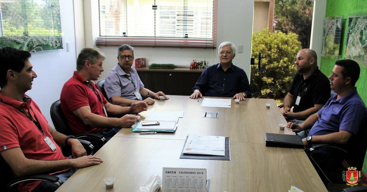 Atividades da Epagri no município e novo extensionista rural pautam reunião