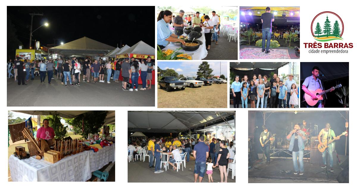 Atrações diversas marcam o 1° Festival de Comida de Rua de Três Barras