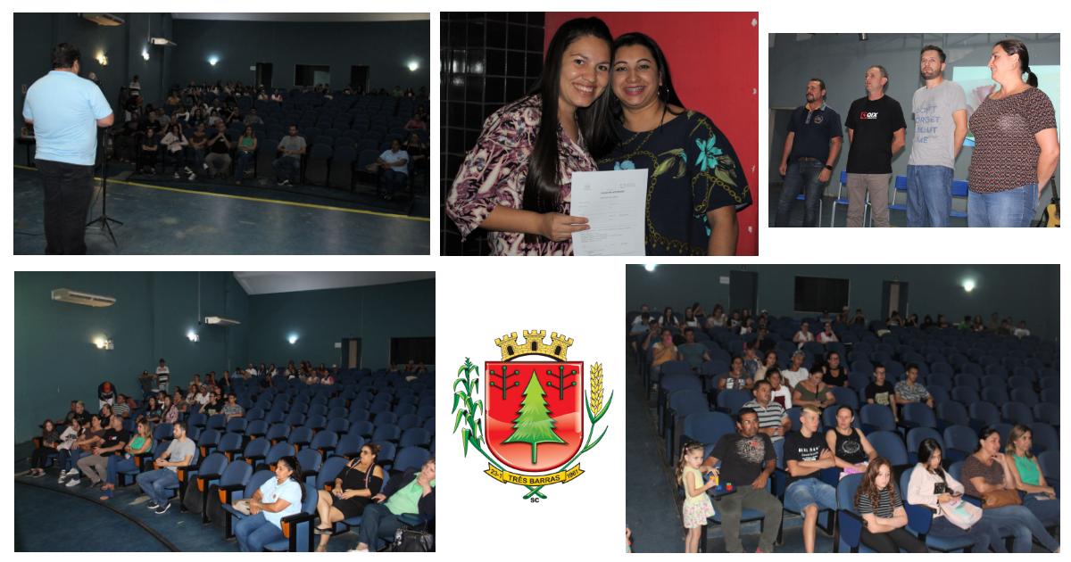 Aula magna marca início de cinco cursos profissionalizantes em Três Barras