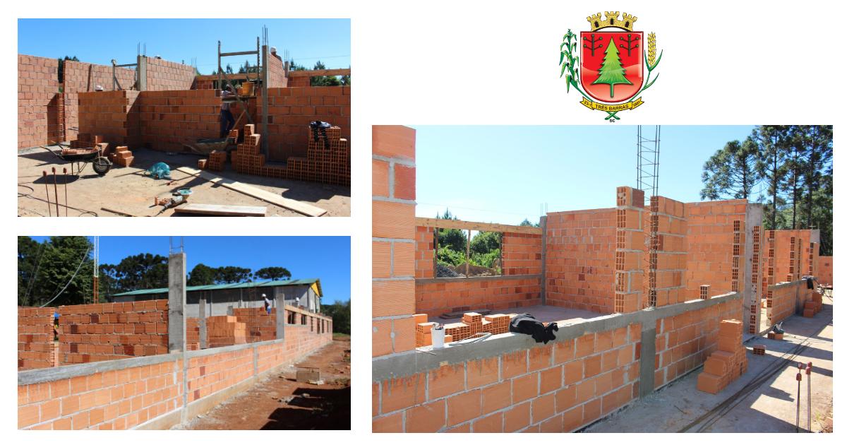 Campininha: Escola Municipal João Pedro de Oliveira está sendo repaginada