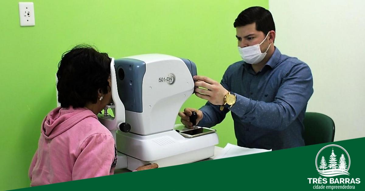 Cerca de 36% dos pacientes faltaram ao mutirão de consultas e exames oftalmológicos