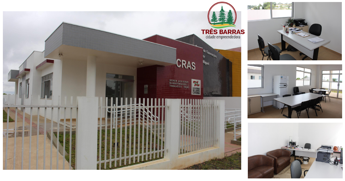 CRAS de Três Barras está atendendo em novo endereço no Distrito de São Cristóvão