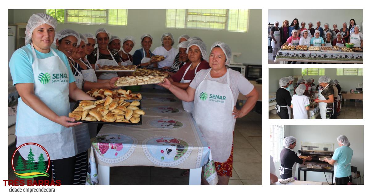 Curso de pães, biscoitos e salgados reúne mulheres assistidas pelo Serviço de Convivência e PAIF