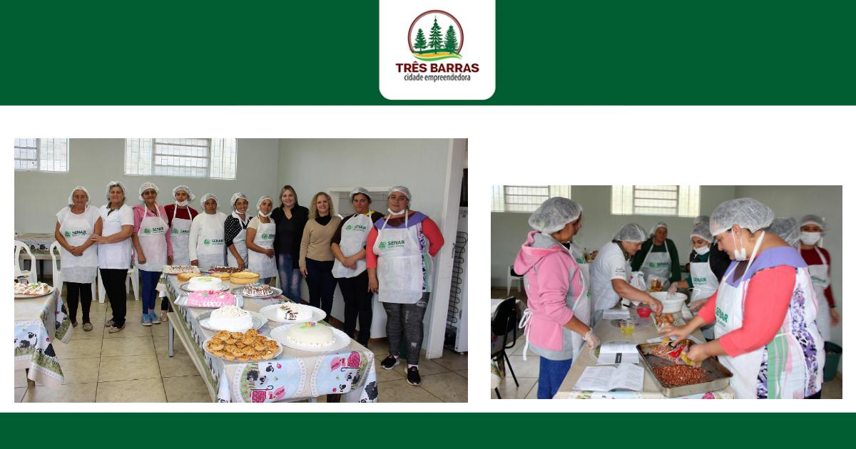Curso de Panificação e Confeitaria reúne mulheres assistidas pelo Serviço de Convivência e PAIF