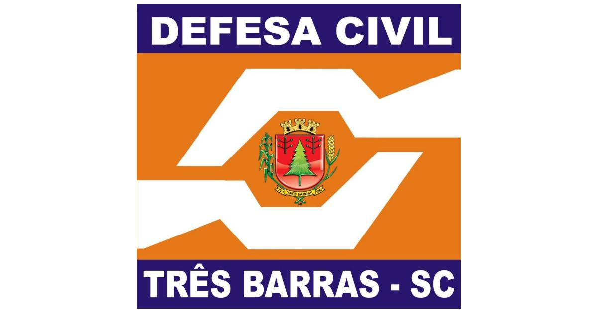 Defesa Civil atende atingidos por vendaval e avalia estragos em Três Barras