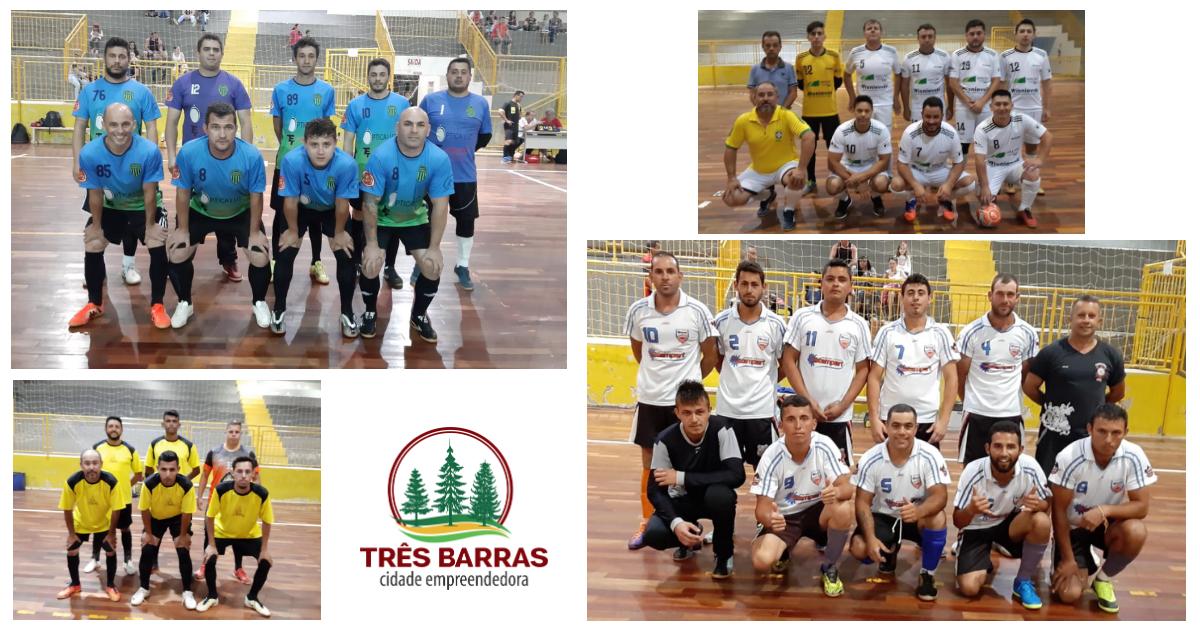 Definidos os times semifinalistas do Campeonato de Futsal Interno da Prefeitura de Três Barras