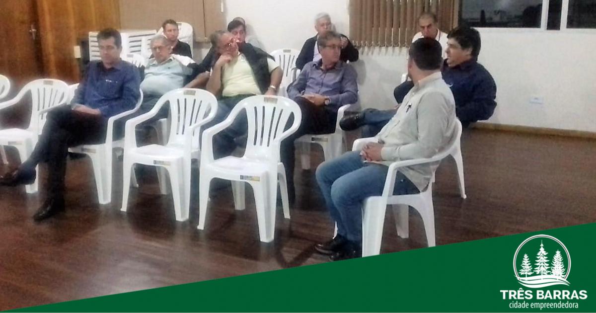 Eixo Indústria debate necessidades para o desenvolvimento de Três Barras