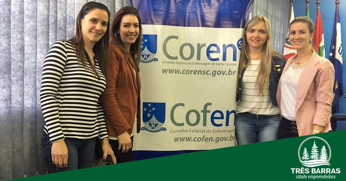 Enfermeiras tresbarrenses iniciam Curso Regional de Formação de Lideranças
