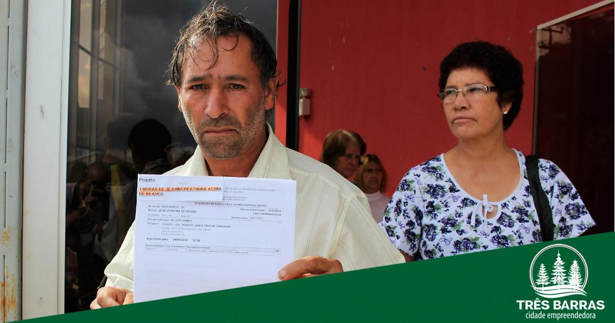 Entrega de guias de autorização marca o início do mutirão de cirurgias eletivas e exames