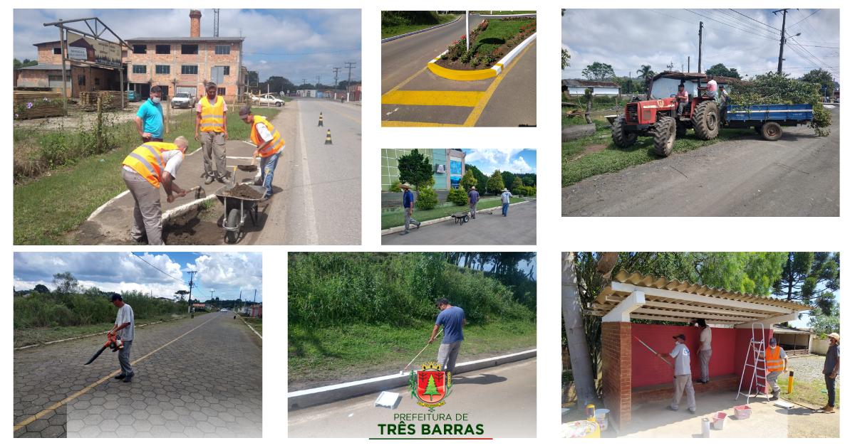 Equipe da Intendência Distrital realiza limpezas em geral e revitalização de abrigos para passageiros