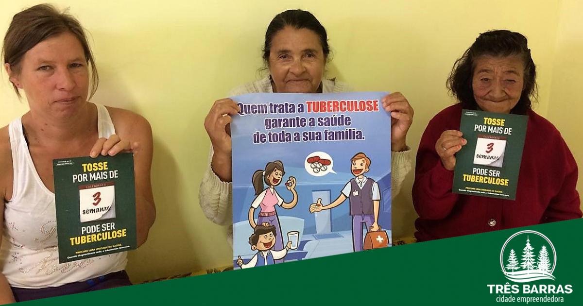 Equipes de saúde orientam população no Dia Mundial de Combate à Tuberculose