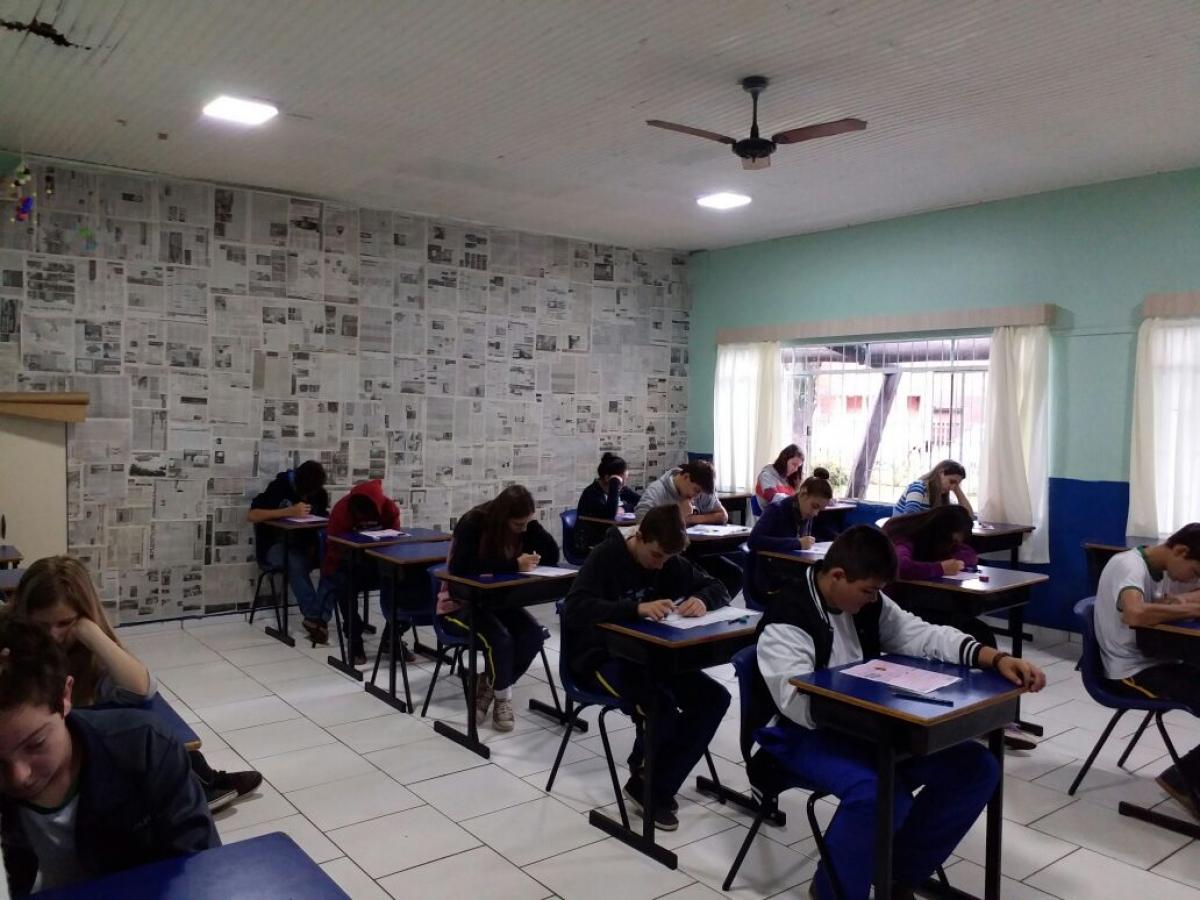 Escola Guita Federmann participa da OBMEP com 395 estudantes
