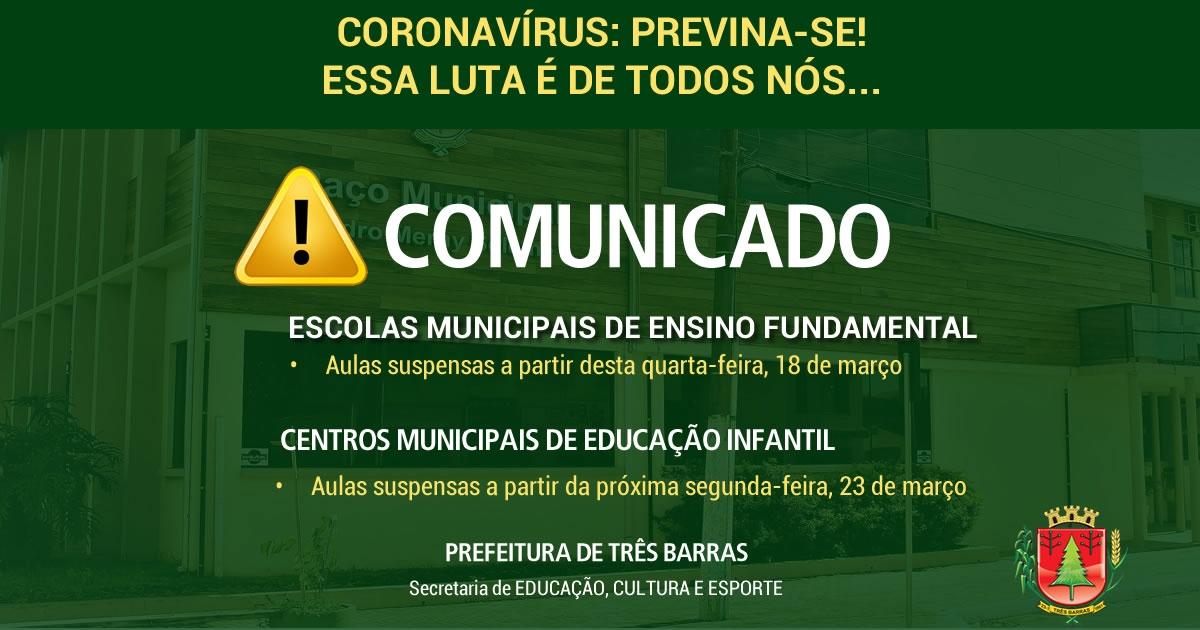 Escolas municipais param a partir desta quarta-feira; Centros de educação infantil na próxima segunda