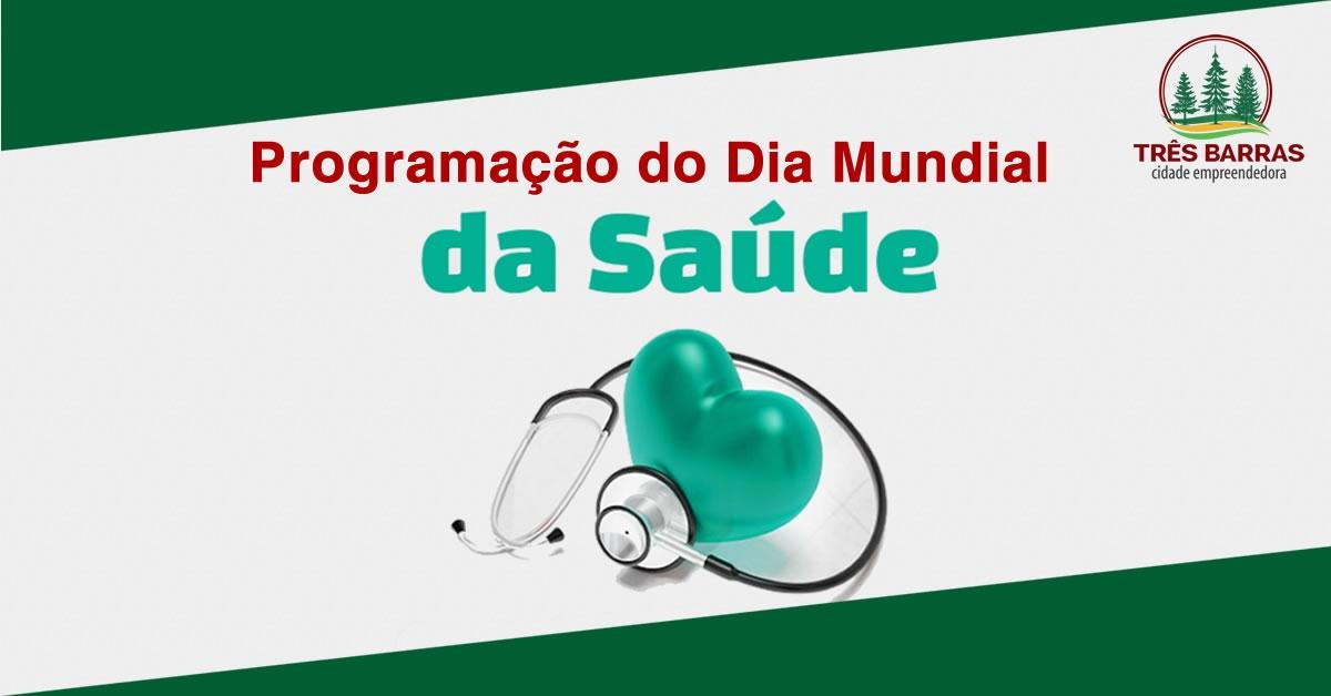 ESF tem programação especial para celebrar o Dia Mundial da Saúde