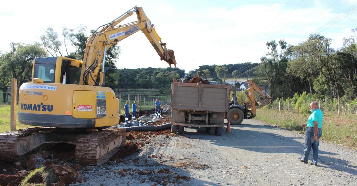 Estrada Transfalcônica tem obras de asfaltamento retomadas em Três Barras