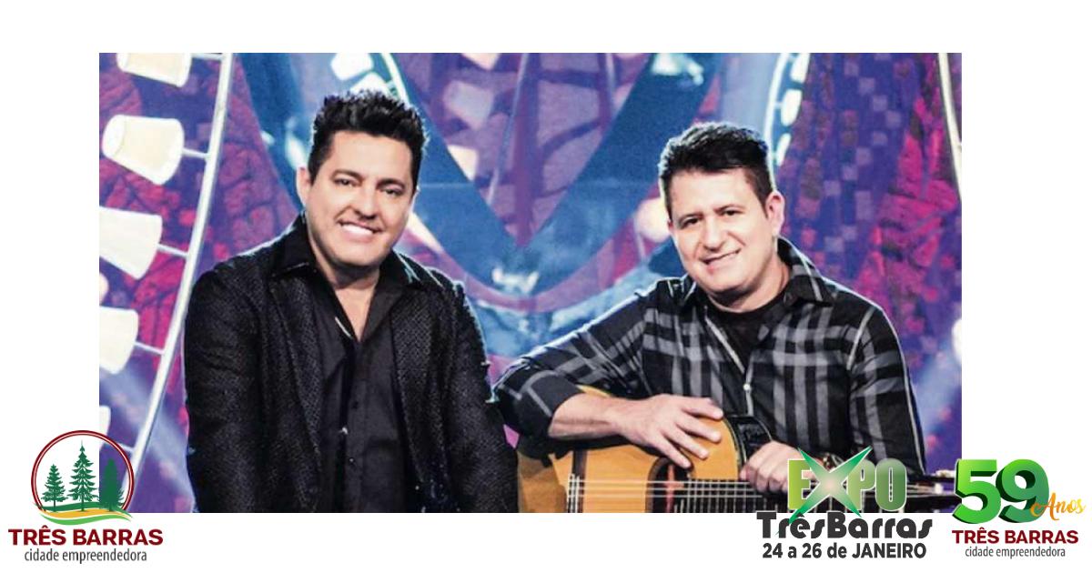 Expo Três Barras termina neste domingo com show de Bruno e Marrone