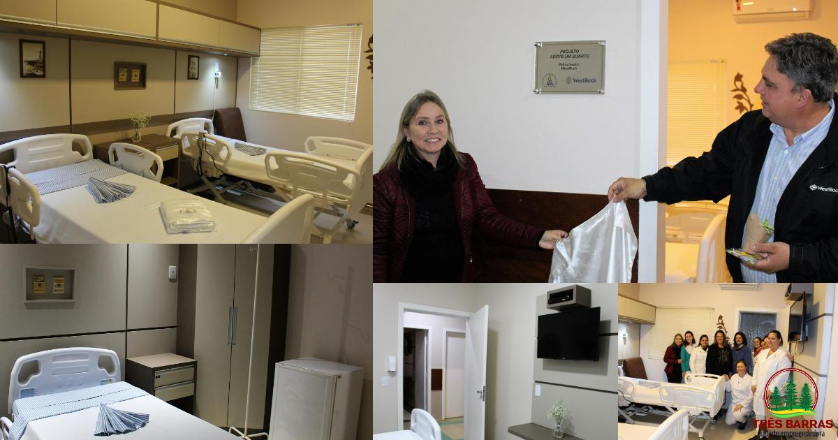 Fundação Hospitalar reinaugura mais dois apartamentos pelo Projeto Adote um Quarto