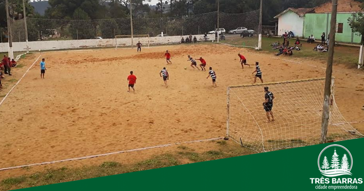 Futebol de Areia: rodada adiada será disputada no feriado de 07 de setembro