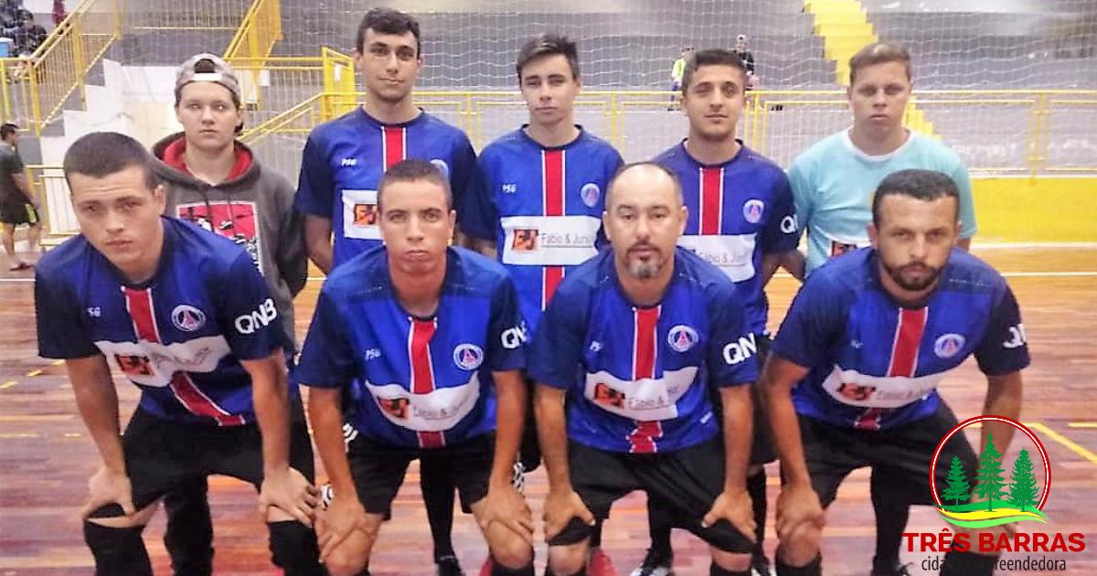 Galáticos e União Três Barras B fazem a decisão do Futsal Livre em Três Barras