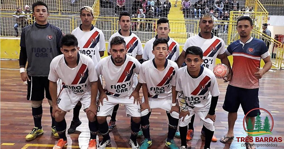 Goleadas movimentam jogos da segunda rodada do Futsal Livre em Três Barras