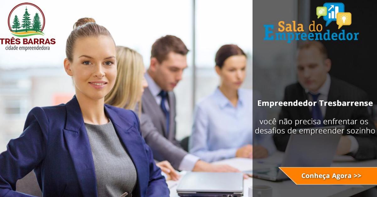 Governo de Três Barras lança Landing Page da Sala do Empreendedor