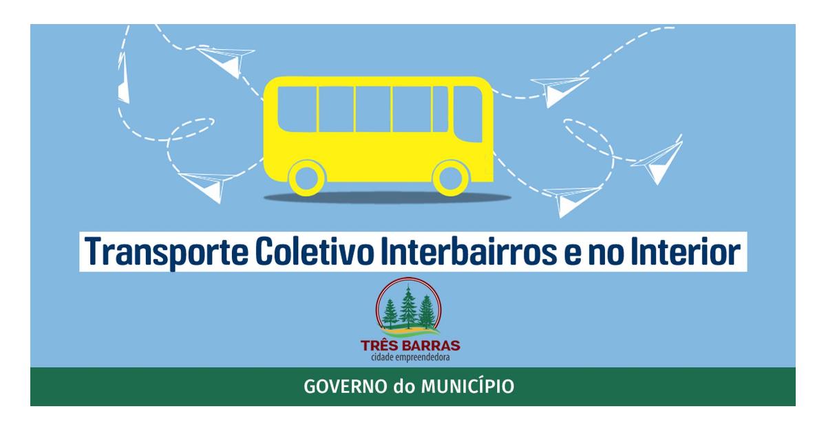 Governo de Três Barras pretende implantar transporte coletivo interbairros e no interior