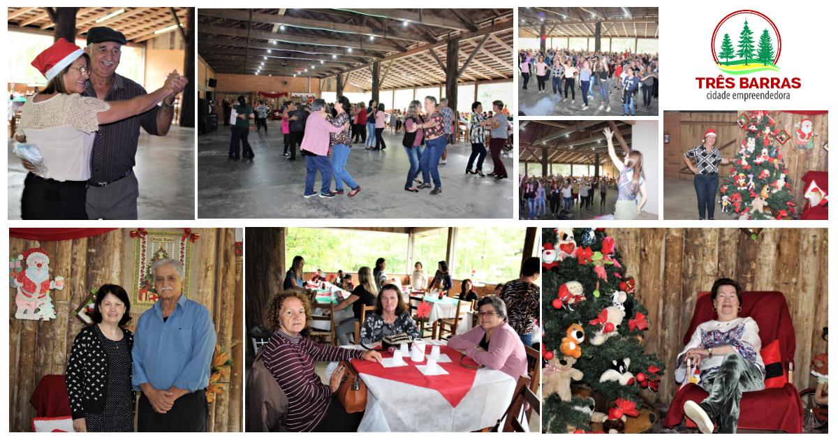 Grupos da Melhor Idade e Clube de Mães participam de confraternização em Três Barras