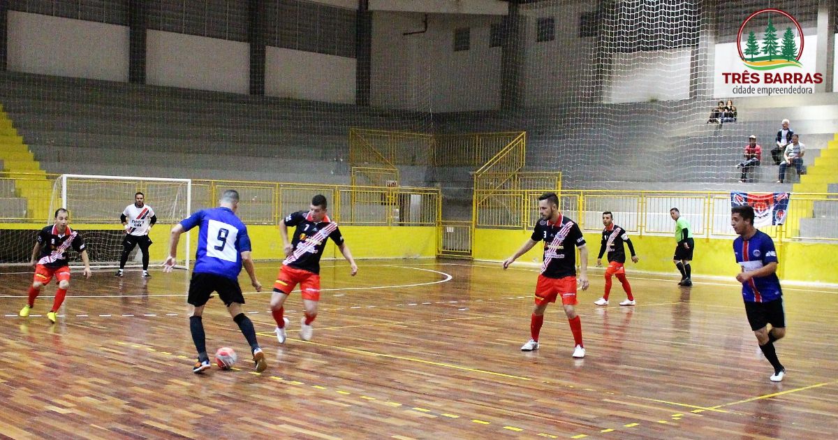 Inscrições abertas para o Campeonato Municipal de Futsal de Três Barras 2019