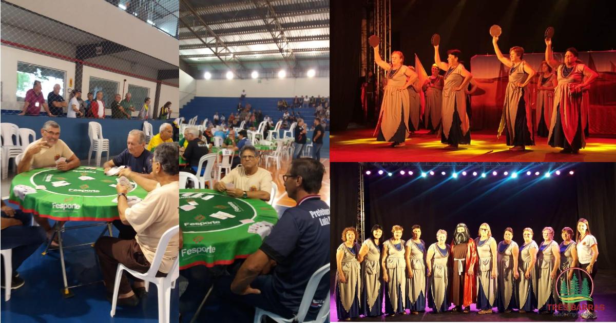 Jasti: Três Barras é 4º lugar na canastra masculino e 9° na dança coreográfica