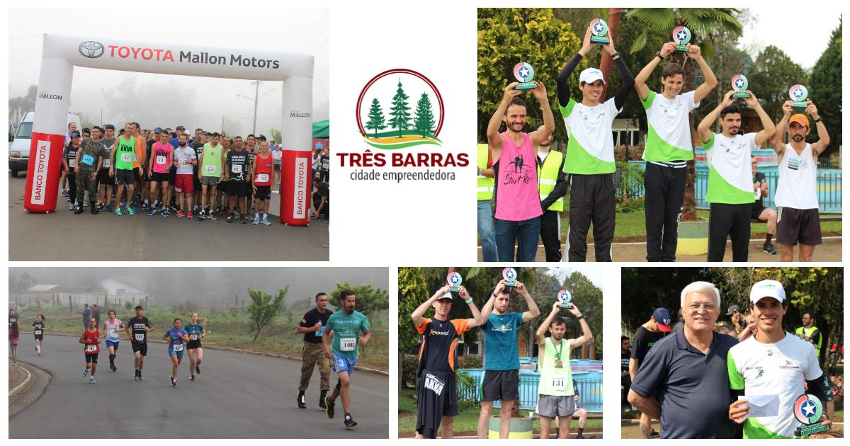 Mais de 160 competidores completam provas de 5 km e 7 km da 1ª Corrida Dia do Soldado