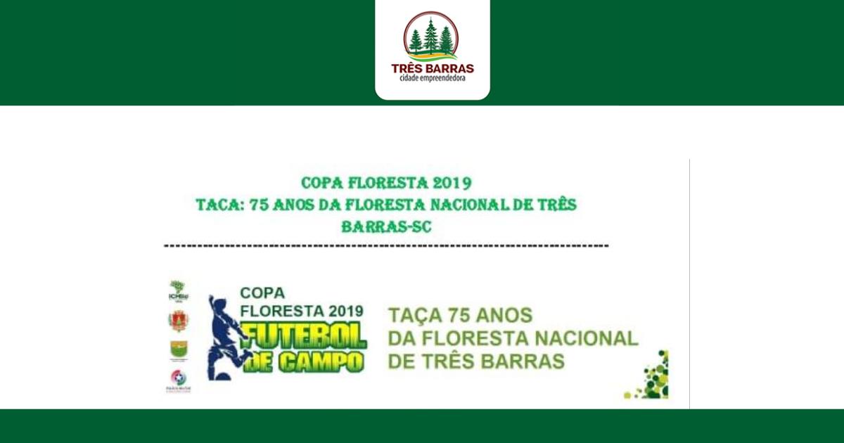 Não haverá rodada da Copa Floresta de Futebol no final de semana