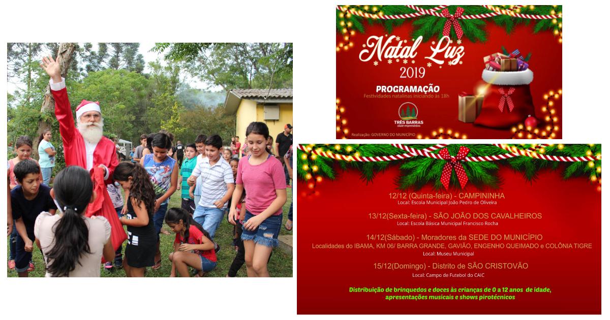 Natal Luz começa nesta quinta-feira pela localidade da Campininha