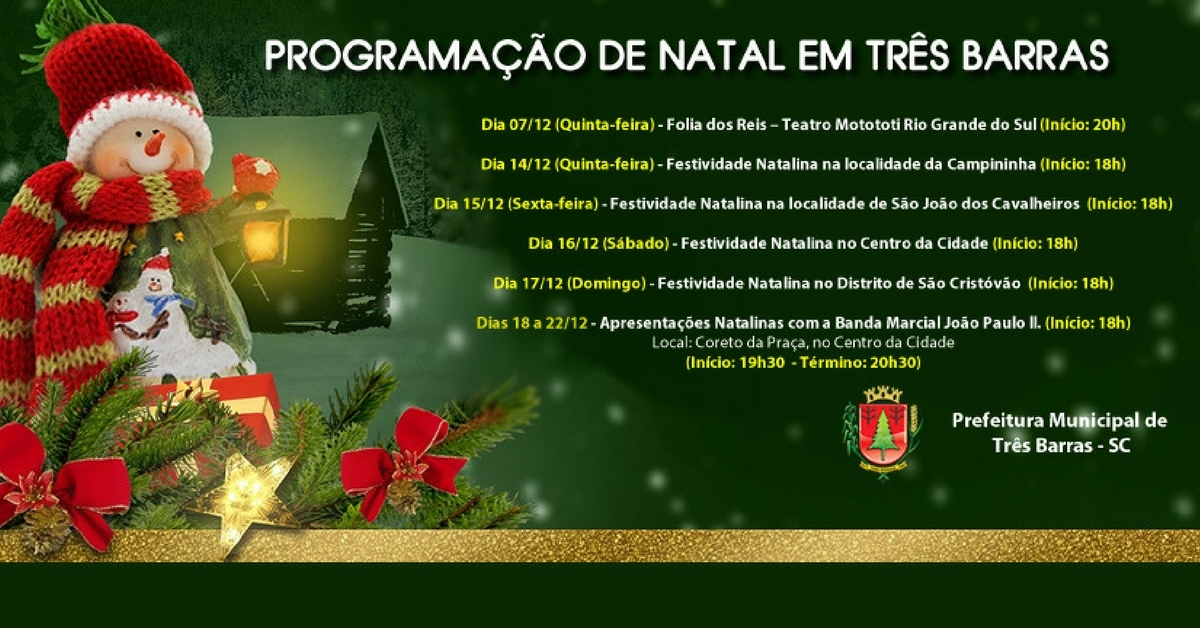 Natal terá shows e distribuição de presentes para mais de 5,8 mil crianças