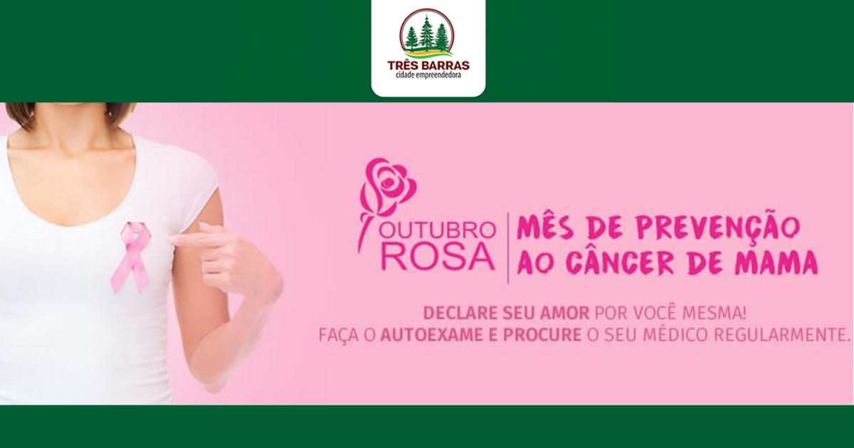 Outubro Rosa: Unidade de Saúde Dr. Mário Mussi promove uma série de ações às mulheres neste sábado