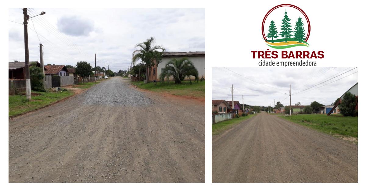 Prefeitura abre licitação para o asfaltamento de 12 ruas em Três Barras