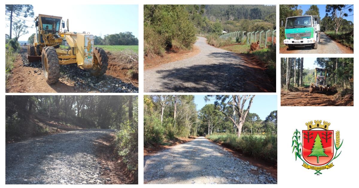 Prefeitura concentra trabalhos de recuperação nas estradas da Campininha