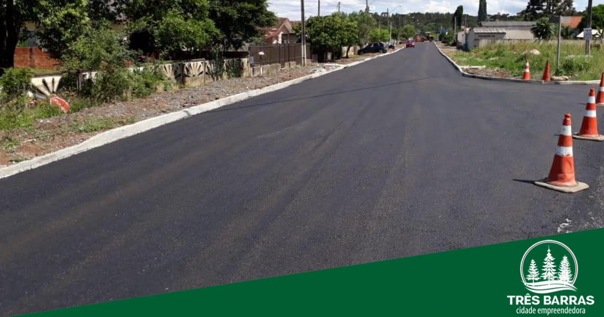 Prefeitura conclui asfaltamento em ruas do bairro João Paulo II
