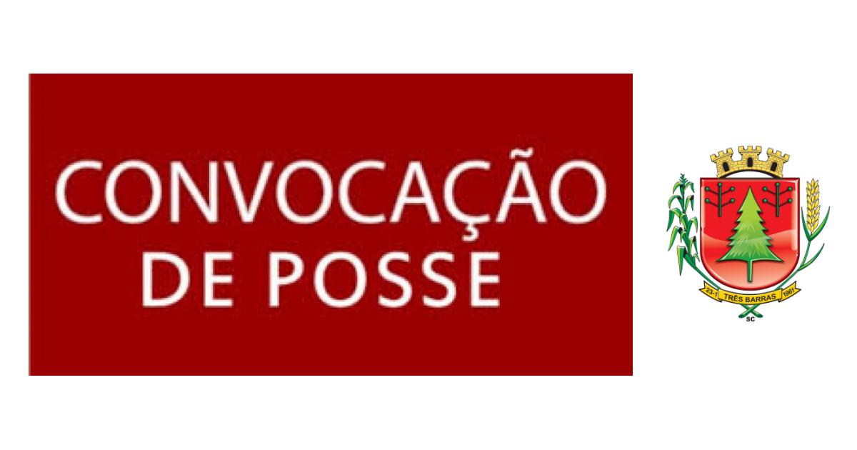 Prefeitura de Três Barras convoca candidatos aprovados em processo seletivo e concurso público