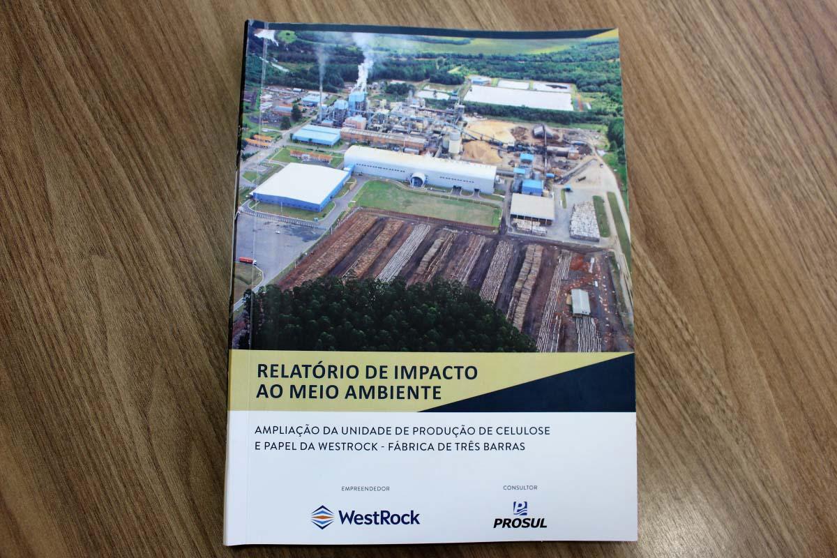 Prefeitura disponibiliza relatório de impacto ambiental da WestRock para consulta pública