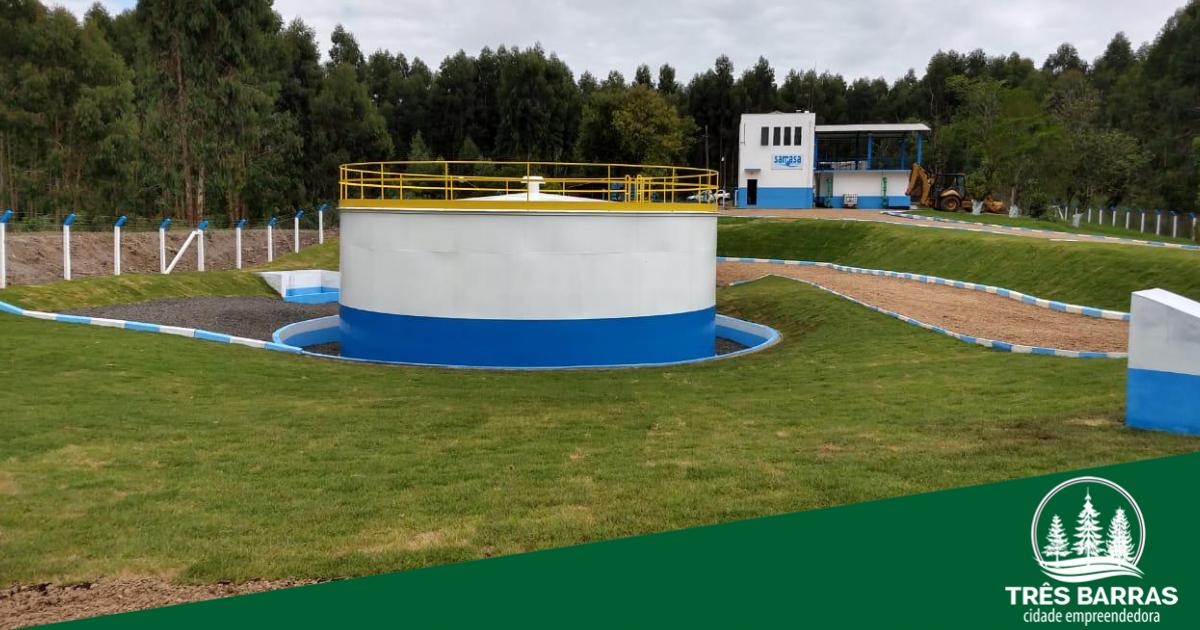Prefeitura e Samasa inauguram novo reservatório da ETA nesta quarta-feira