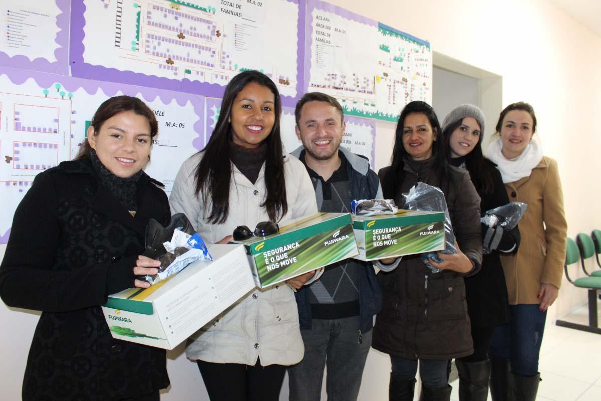 Prefeitura finaliza entrega de itens de trabalho a agentes comunitários de saúde
