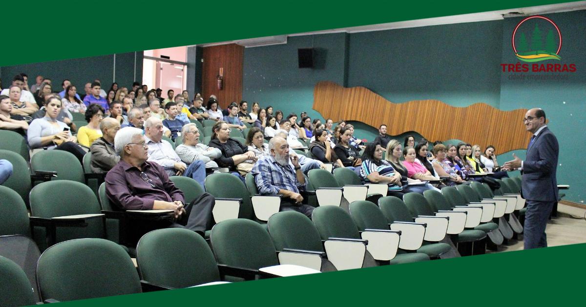 Prefeitura promove capacitação com servidores municipais de Três Barras