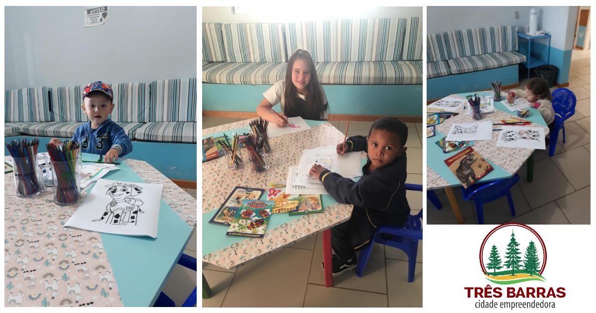 Pronto Atendimento oferece espaço terapêutico para as crianças que aguardam pelas consultas médicas
